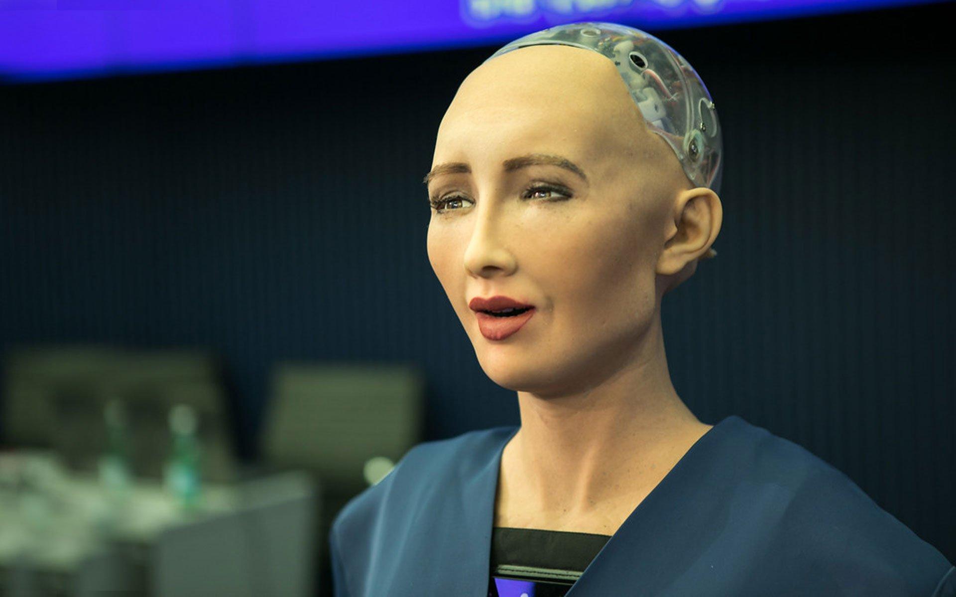 sophia artificial intelligence robot