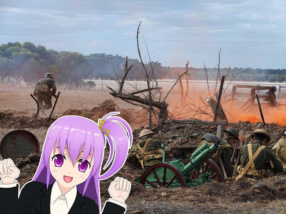 world war anime