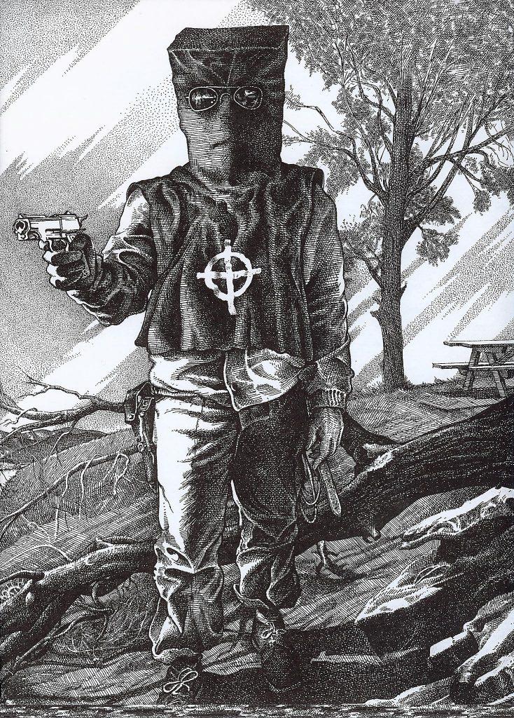 Zodiac Killer Sketch