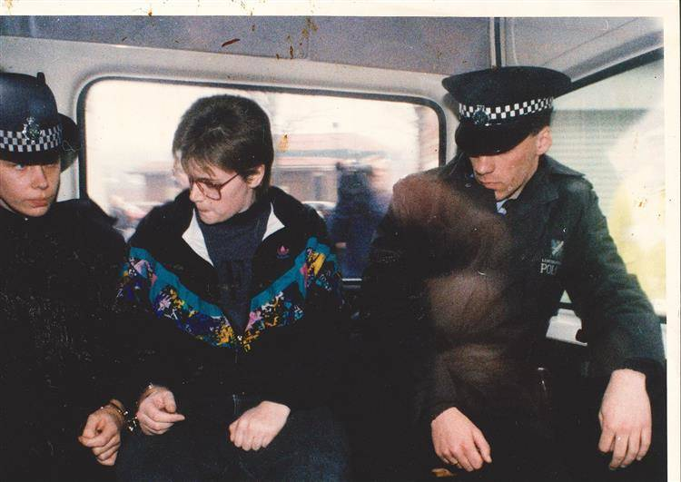 Beverley Allitt under arrest