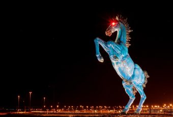 BLUCIFER AT DENVER AIRPORT
