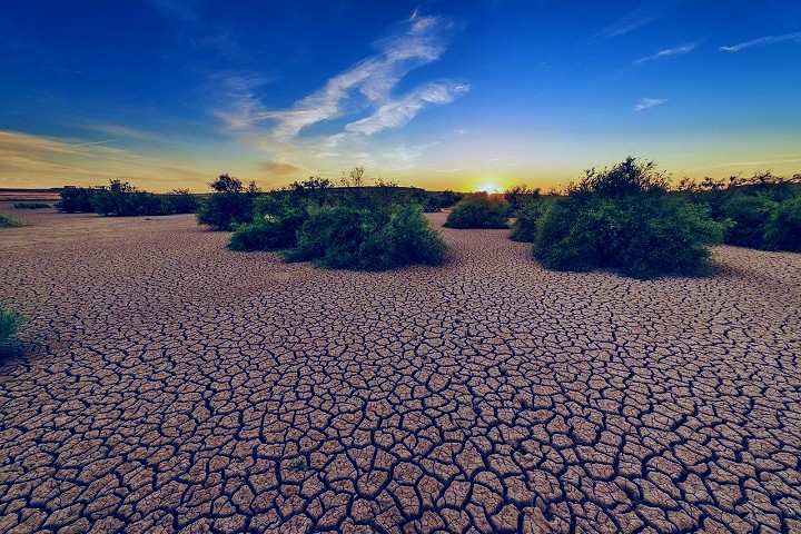 Drought effect area, Climate Change