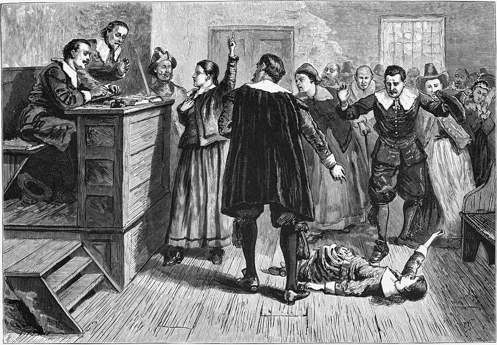 Supposed scene from the courtroom