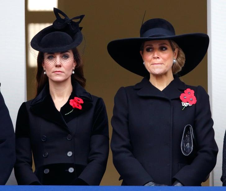 Kate Middleton wearing black outfit