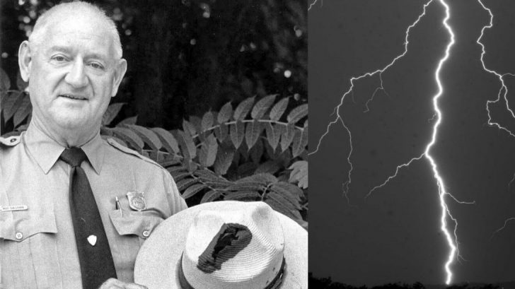 Roy Sullivan, the man who got hit by lightning 7 times.