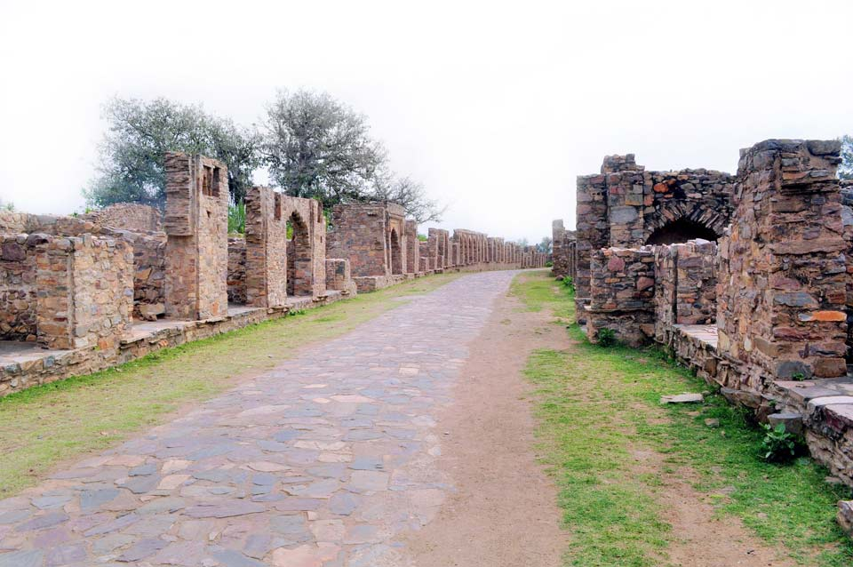 Bhangarh fort city