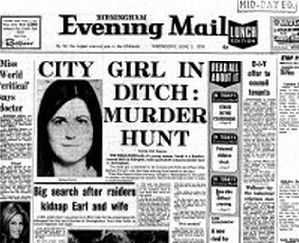 How evening mail reported the discovery of Barbara Forrest