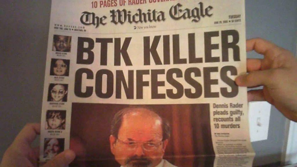 Witchita Eagle after BTk killer confessed