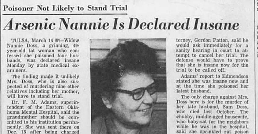 nannie doss newspaper