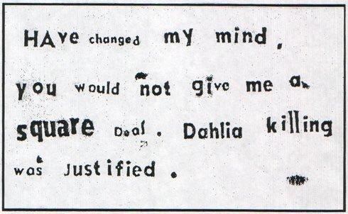 Black Dahlia Killer