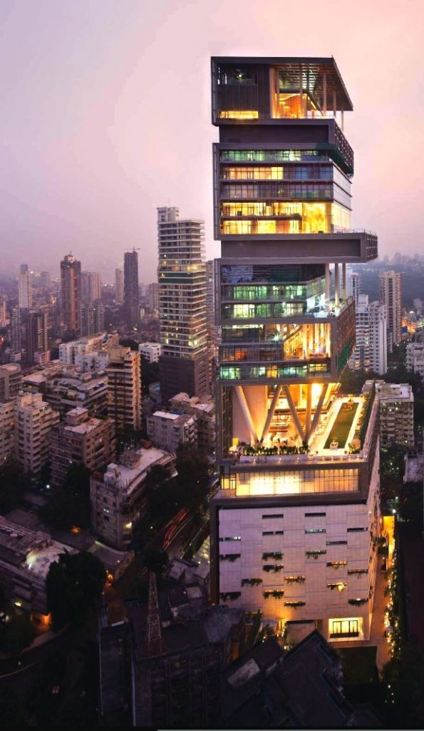 The most expensive house in the world Antilia