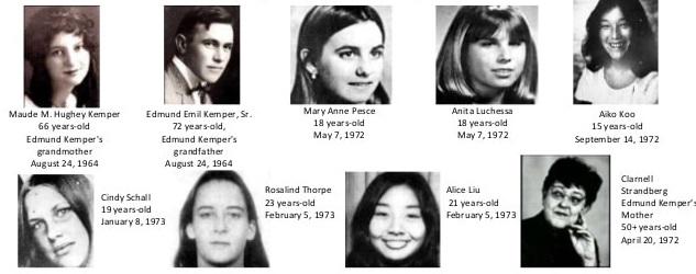 Kemper Victims