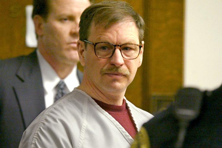 Gary Ridgway during his hearings