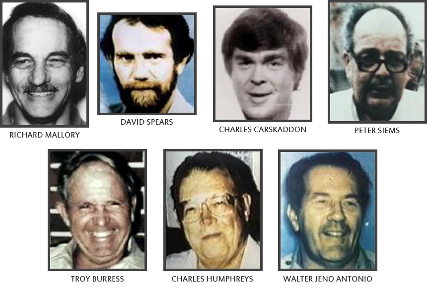 Ailenn Wuornos Victims