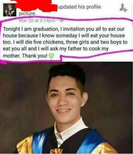 25. Graduation Speech