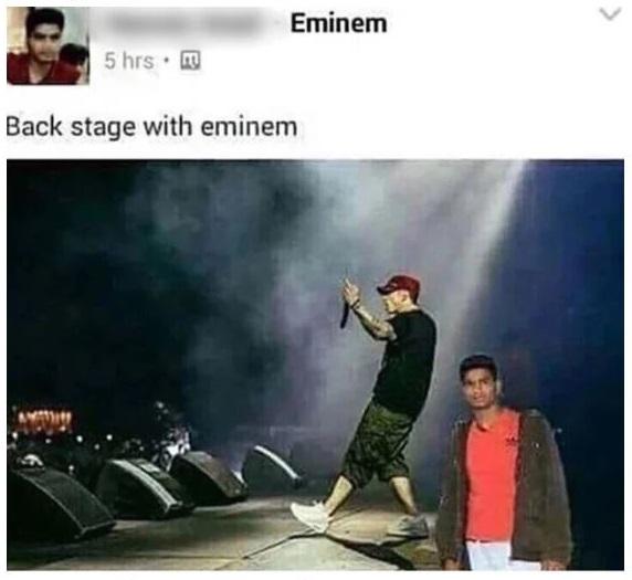 29. Backstage with Eminem