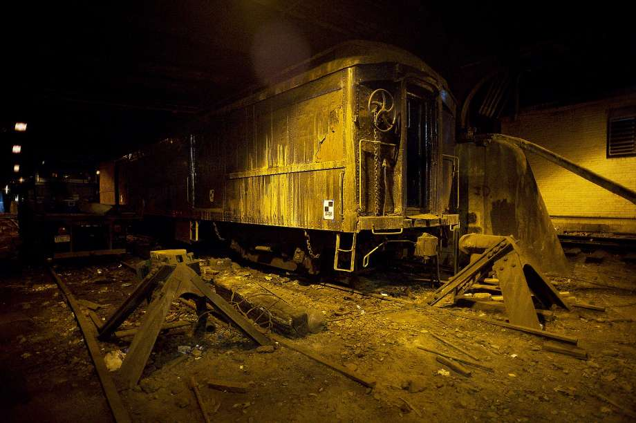Roosevelt's mystery train used to hide his wheelchair from the world