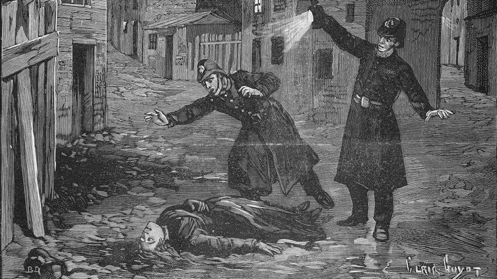 Jack the Ripper murders.