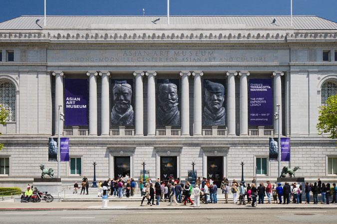 Terracotta Warriors exhibition in San Francisco, U.S.