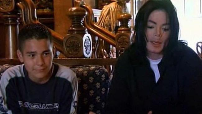 Michael Jackson with Gavin Arvizo