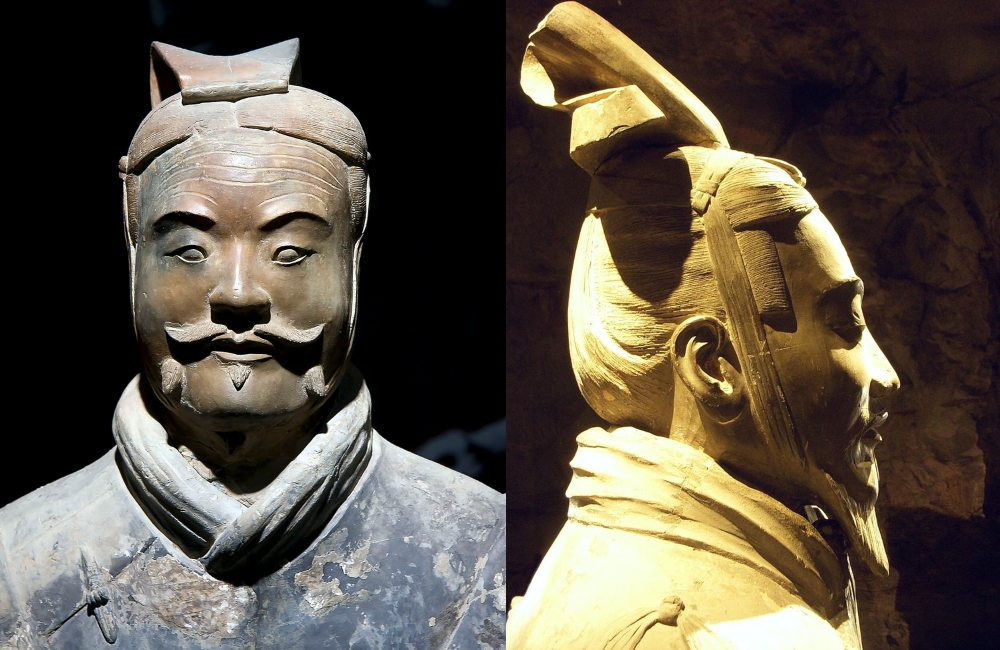 Terracotta Army General and Mid rank officer Xi'an