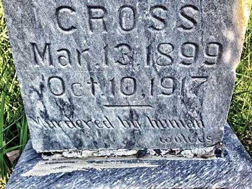 katherine cross grave
