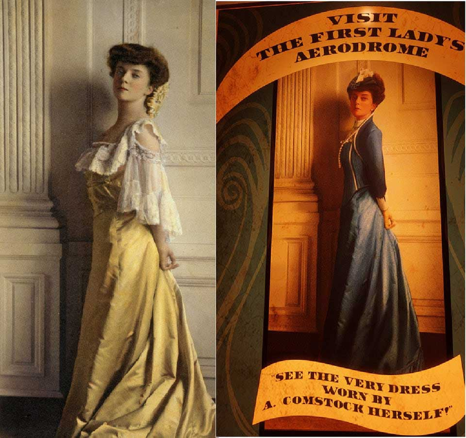 Lady Comstock and Alice Roosevelt