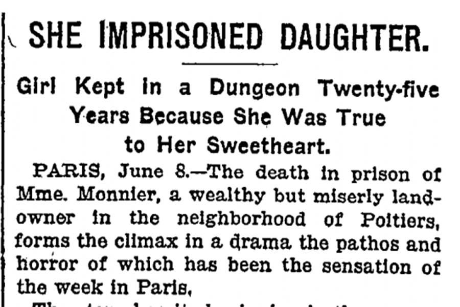Blanche Monnier's Newspaper