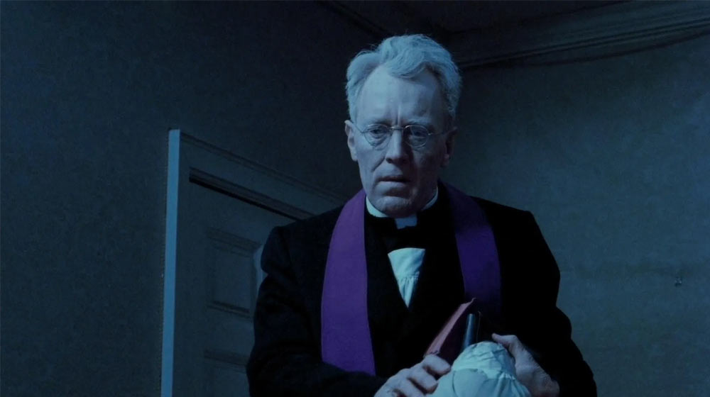 Max Von Sydow in the Exorcist