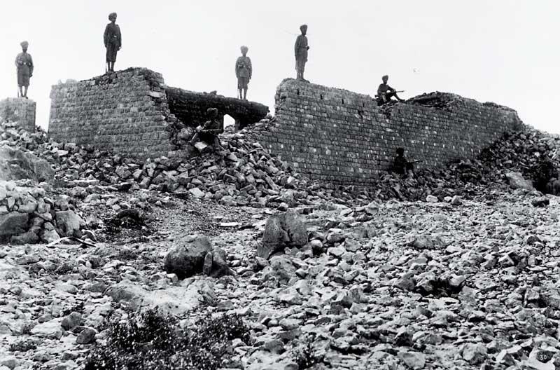 Ruins of Saragarhi