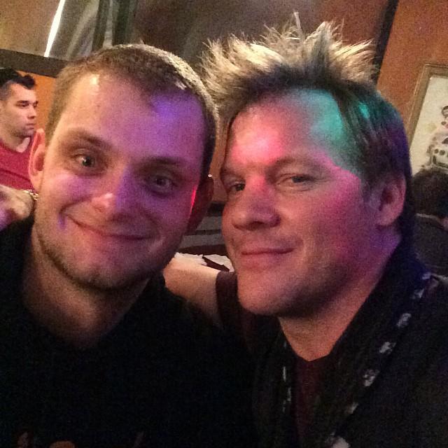 Daniel Benoit and Chris Jericho