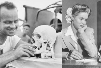 Skull, Ear, Nose and Other Morbid Trophies American Collected From Dead Japanese in WWII