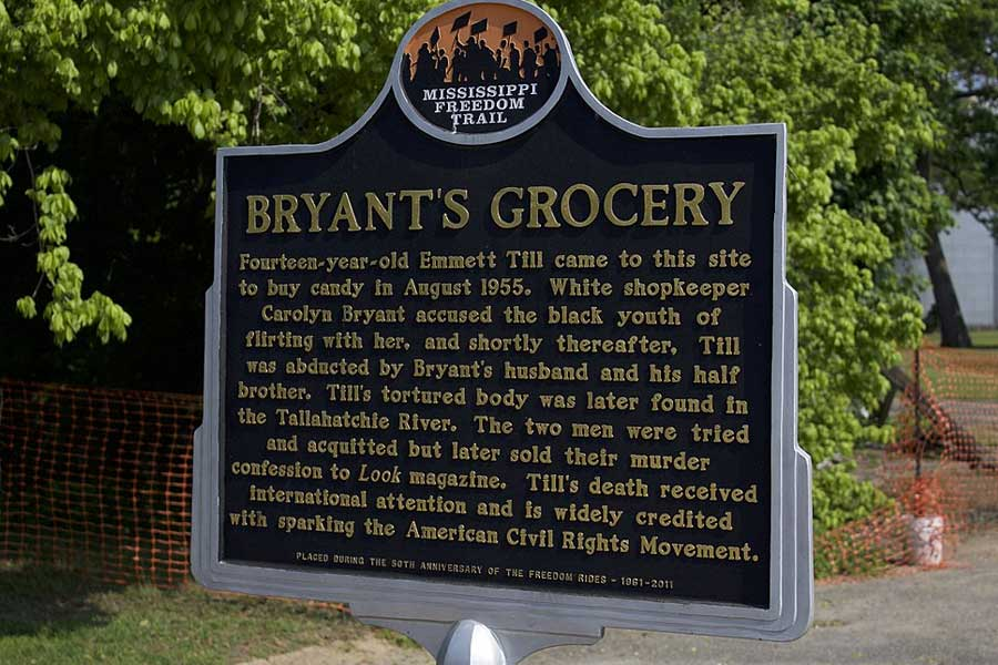 Bryant's Grocery sign