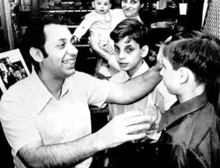 Joseph Kallinger with children