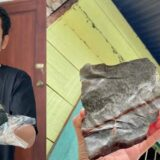 man become millionaire after a meteor crashed through his room