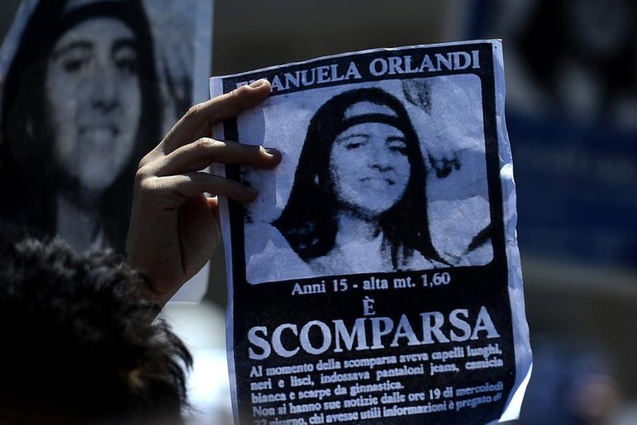 Emanuela Orlandi missing posters