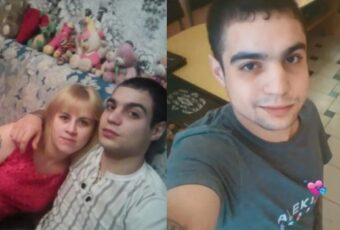 Dmitry Sergeev sentenced to three years after beating wife to death in front of their kids.