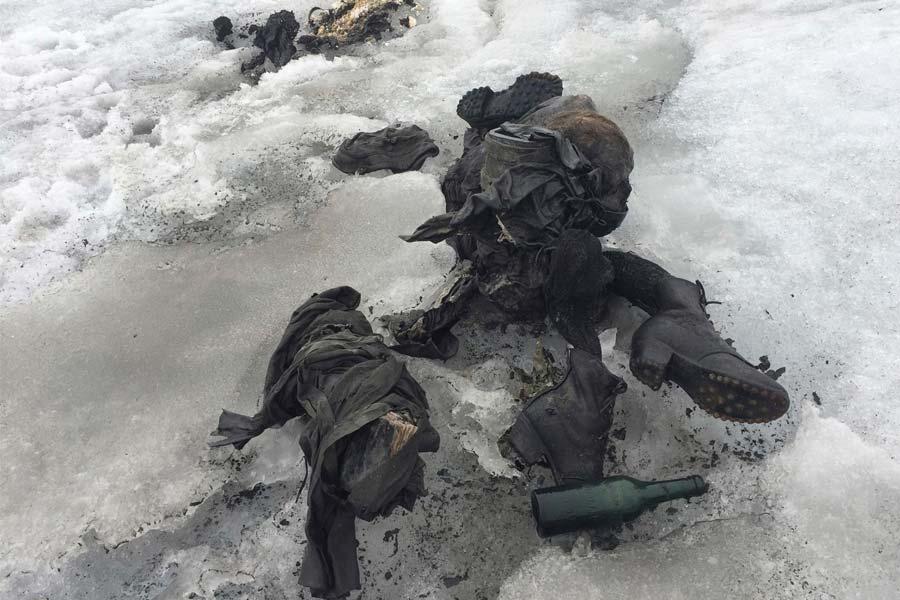bodies of Marceline and Francine Dumoulin found due to melting glacier