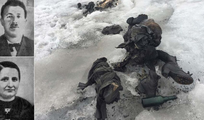 couple missing since 1942 found; thanks to melting glacier
