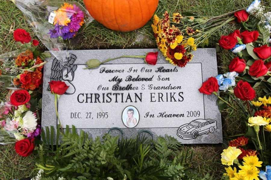 Christian Choate's grave