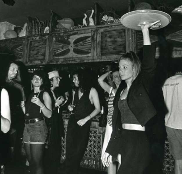 Karina Holmer at Zanzibar nightclub.