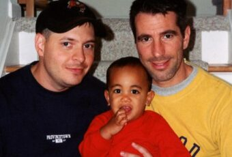 A Gay Couple Discovered a Baby On the Subway, and He Has Since Changed Their Lives Completely