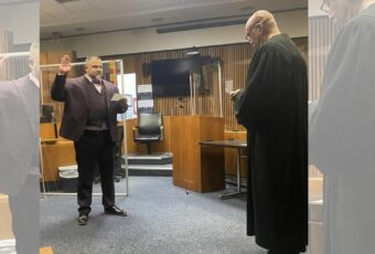 judge gave drug dealer a second chance and 16 years later he sown him in as a lawyer