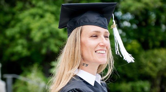Ginny Burton, a Lifelong Drug Addict, Turns Her Life around and Graduates from University of Washington at Age 48