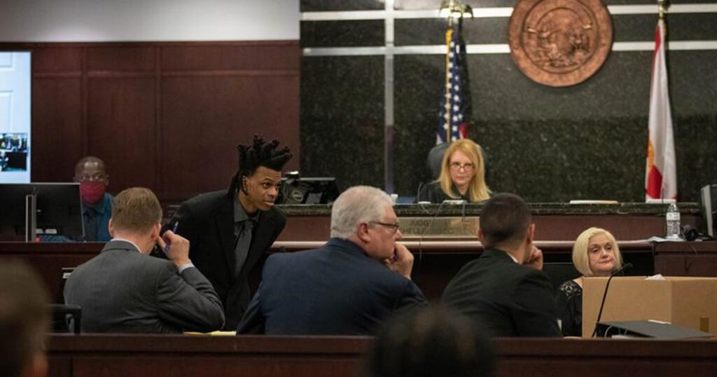 """""""You Stabbed Me"""" 11-Year-Old Son Testifies Against His Father In Double Murder Trial"""