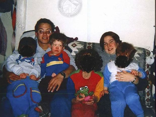 Jeffery Baldwin and family