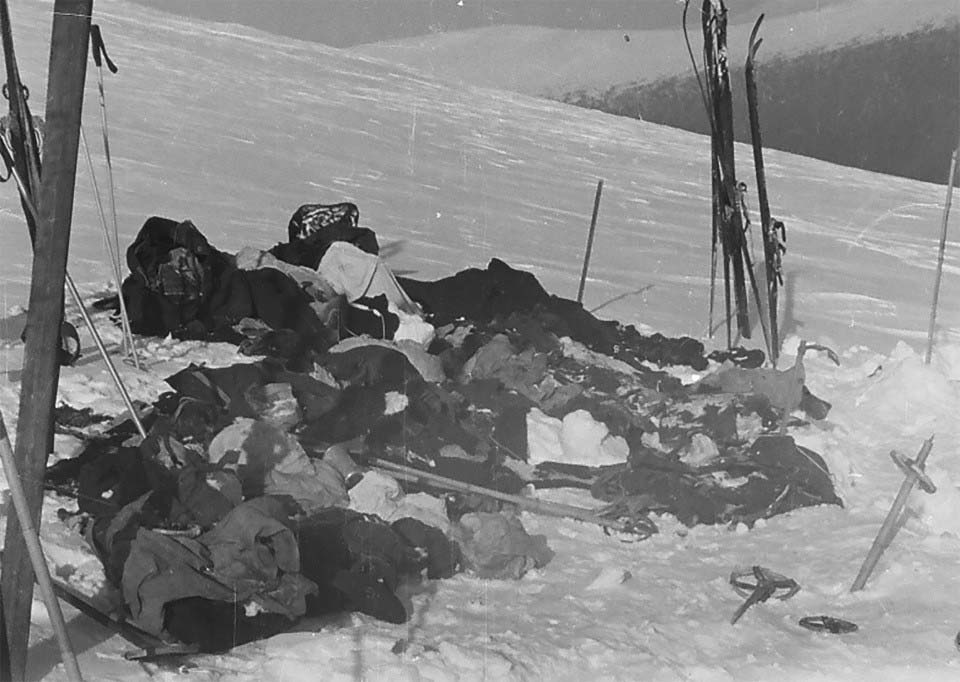 What happened to the group in Dyatlov pass incident
