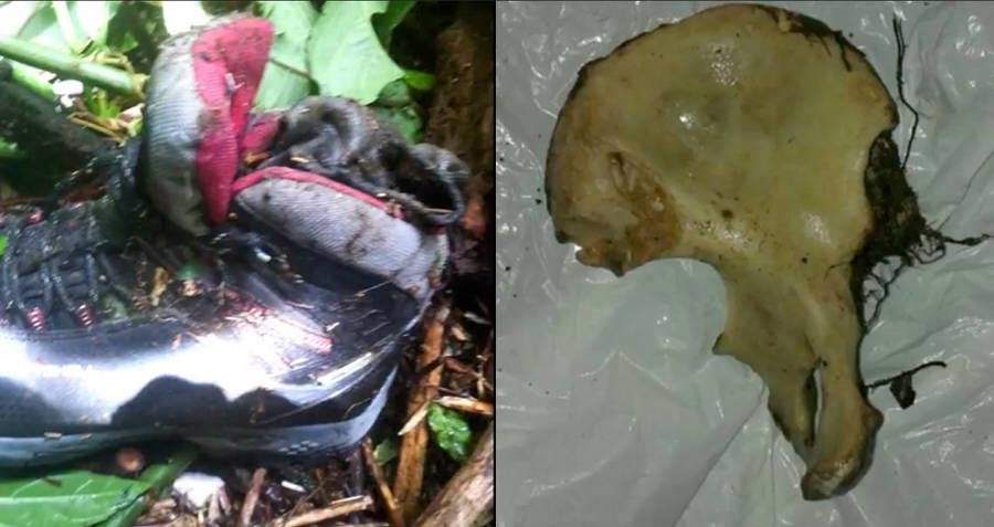 Lost in panama, Froon's remains recovered near the backpack