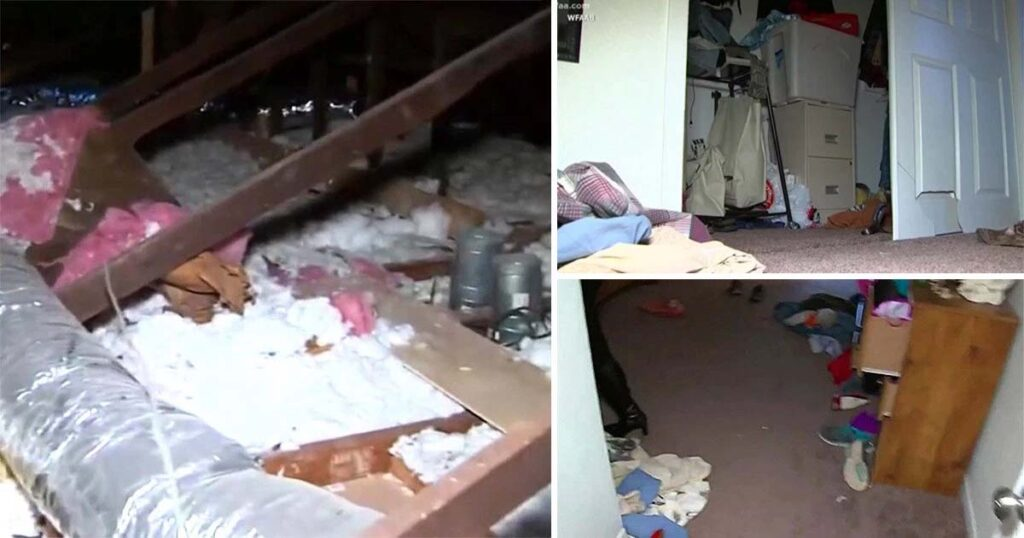 Turpin family house was filled with feces